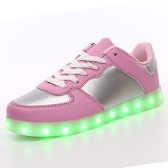 fda04784773dd Size  USB Charging Basket Led Children Shoes With Light Up Kids Casual  Boys Girls Luminous Sneakers Glowing Shoe enfant