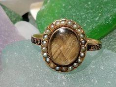Antique Georgian Mourning Ring 1772 for Little Harriet Slater Age 6 by RavensbeakRings on Etsy https://www.etsy.com/uk/listing/537758199/antique-georgian-mourning-ring-1772-for