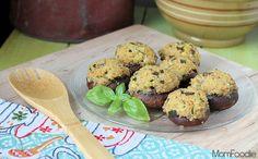 zucchini & quinoa stuffed mushrooms recipe