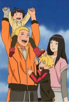 Naruto hinata boruto himawari