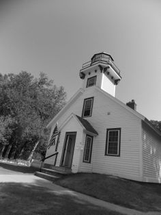 Old Mission lighthouse.