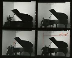 Coyote Atelier photography inspiration: Arnold Newman. Portrait of Igor Stravinsky.