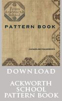 Ackworth School Pattern Book with online download..