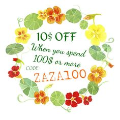 10 dollars US OFF when you spend 100 dollars US or more.