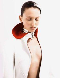 Futuristic Fashion Editorials: Dazed & Confused Shows 'The Ultimate' Robot Woman
