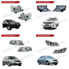 Nissan Sunny, Honda City, Headlight Assembly, Car Headlights, Car Brands, Car Lights, Spare Parts, Scorpio, Oem
