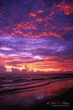 Cape San Blas, Florida...on the Gulf of Mexico - fabulous sunsets!