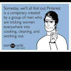 Pinterest is a conspiracy meme