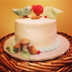 Love Birds Woodlands Cake Cupcake Cakes, Cupcakes, Woodland Cake, Love Birds, Sweet, Desserts, Food, Candy, Tailgate Desserts
