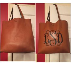 walmart tote bag 7 monogrammed with my brother quattro 2 6700d