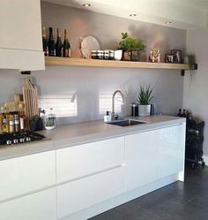Excellent modern kitchen room are readily available on our website. Read more and you will not be sorry you did. Kitchen Dining, Kitchen Decor, Kitchen Cabinets, Kitchen Sink, Kitchen Ideas, Kitchen Wood, Küchen Design, Interior Design, Design Ideas
