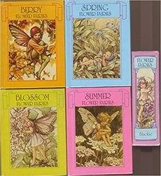 Flower Fairies Miniature Library x 4 Books in Slip-case: Amazon.co.uk: Cicely Mary Barker: 9780216911109: Books