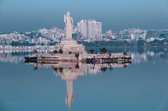 Worlds tallest Monolithic Statue of Gautam Buddha - Hyderabad, India