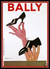 Vintage advertising poster   Bally Shoes