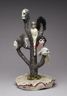 Shary Boyle's Powerful Ceramic Sculptures Of Fantastical Satire