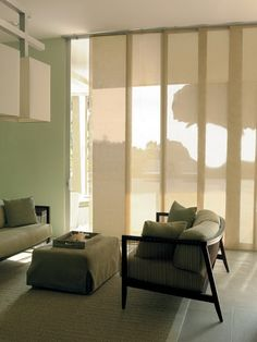 Roller shades are a modern window look go as minimal organic or
