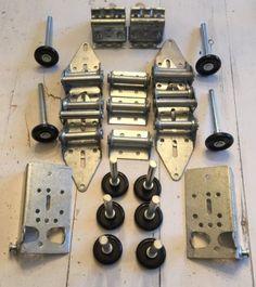 Other Garage Door Equipment 180973: Garage Door Hardware Complete Kit - Med Duty 14 Ga - 9X7 Or 8X7 10 Nylon Rollers -> BUY IT NOW ONLY: $32.99 on eBay!