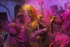 Holi Festival 2015 : les plus beaux clichés de cette fête haute en couleur
