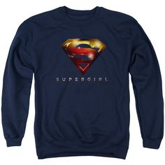 Show your Supergirl Pride with this awesome Name Logo mens crewneck sweatshirt from the hit TV show. It's available in mens' sizes from Small to 3XL. - Ships within the United States only - Allow 4-5