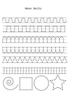 Handwriting Practice Sheets to improve fine motor skills. Can laminate or put in plastic sleeves to turn into dry erase boards. Visit pinterest.com/arktherapeutic for more #finemotor and #handwriting ideas