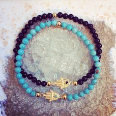 Mini Hamsa Bracelet www.ten10jewelry.etsy.com