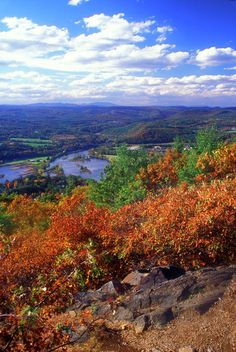 Wantatisquet Mountain State Forest along the Conneticut River, New Hampshire; photo by John Burk