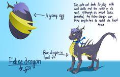 Feline dragon - Dragon City by G3Drakoheart-Arts.deviantart.com on @deviantART