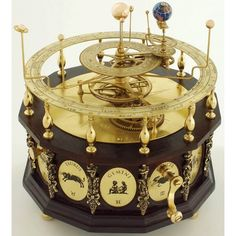 Gorgeous orrery: More Visual wanderings in a digital age… • hexington: Freaking obsessed with Orreries - I...
