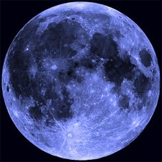 "huffingtonpost: ""How To See Friday's Rare Blue MoonLook up! It's the second full moon of the month. """