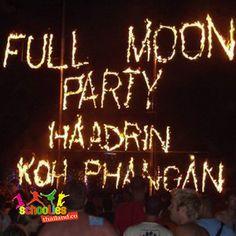 Full Moon Party, Thailand.