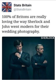 I think we're just excited to finally have something from season 4 Sherlock Holmes Bbc, Sherlock Fandom, Sherlock John, Sherlock Season, Watson Sherlock, Jim Moriarty, Sherlock Quotes, Johnlock, Vatican Cameos