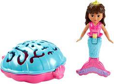Got it- Harper- Fisher-Price Nickelodeon Dora and Friends Dive and Splash Mermaid Dora
