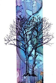 Marja's Stamp Addiction: Bomen / Trees