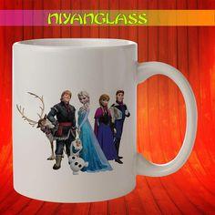 Frozen Family mug, Frozen Fa... from Niyanglass on Wanelo