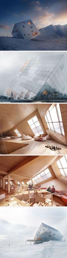 Atelier 8000 #futuristicarchitecture