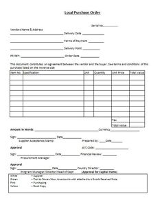 purchase order purchase order pinterest template and activities