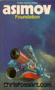 chris foss X asimov