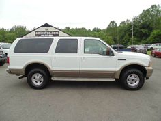 WWW.EMAUTOS.COM 2004 Ford Excursion Eddie Bauer 4x4 Diesel Excursion for sale In Locust Grove VA - E & M Auto Sales #Emautos