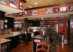 Mancaves - For more great #luxury #mancaves visit www.lepagejohnson.com Click our design center.... www.charlottelakenormanrealestate.com