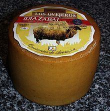 Gastronomía del País Vasco -  Queso de Idiazábal.