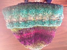 A hat I finished a week and a half ago.
