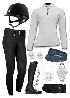 """""""Lesson outfit"""" by ponylover42 ❤ liked on Polyvore featuring Nouv-Elle and Michael Kors"""