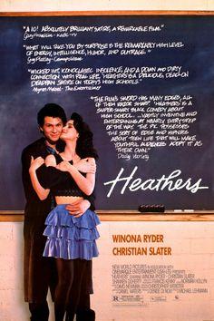 """1990 WINNER FOR BEST SCREENPLAY: """"Heathers""""  ***  Daniel Waters"""