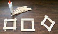 BASIC POPSICLE STICK PHOTO FRAMES