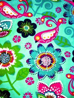 birds flowers pattern