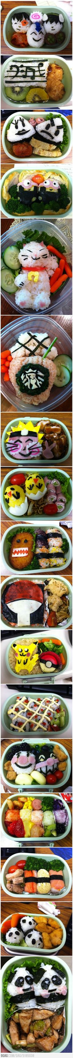Back to school ... prepare your kids this amazing lunches :)