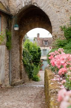 The tiny medieval village of Picardy, France