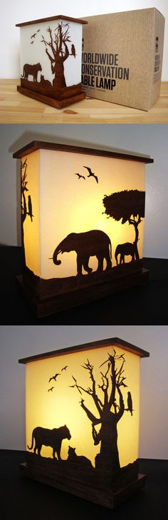 Sustainable Table Lamp Design for San Francisco Zoo. Designed by Darshita Mistry.