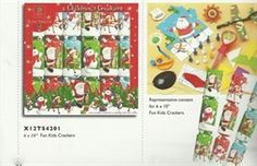 Cym Cards. 6 x 10 inch Fun Kids Crackers from Tom Smith €7
