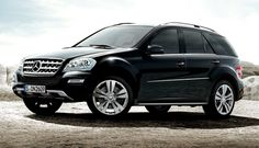 Mercedes M Class, top safety pick :)